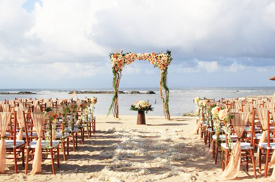 Kayumanis Beach Wedding Bali