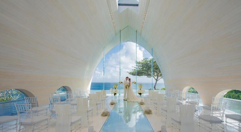 Ayana Tresna Chapel Wedding