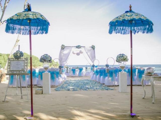 Courtyard Nusa Dua Beach Wedding Ceremony