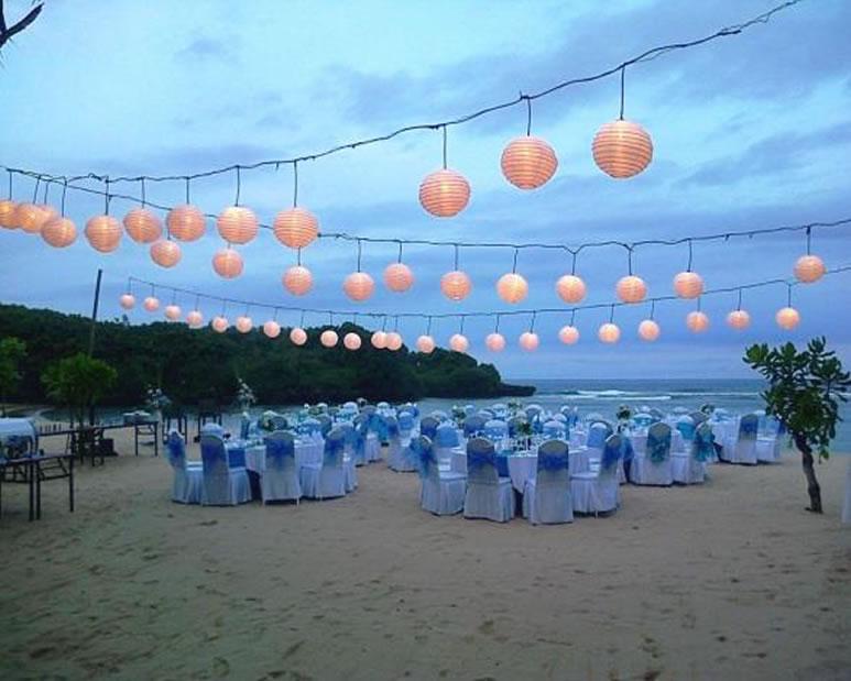 Courtyard Nusa Dua Beach Wedding Reception