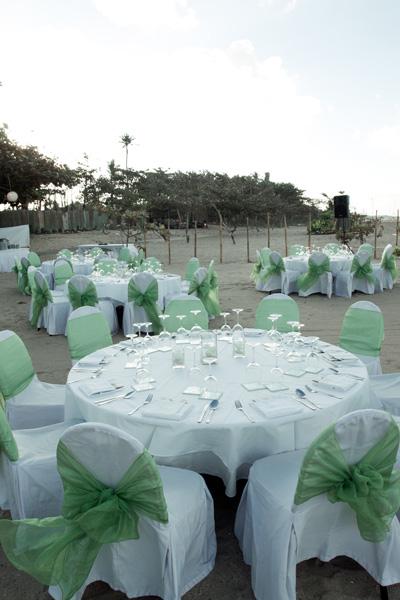 Kayumanis Nusa Dua Wedding Reception Dinner
