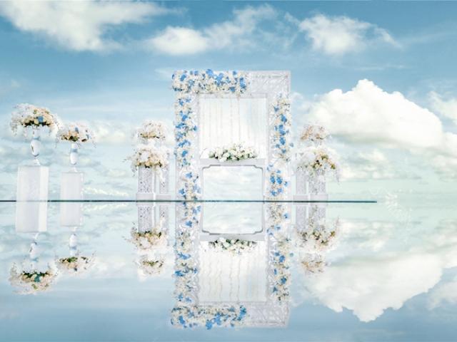 Ocean Bali Sky Water Wedding Ceremony