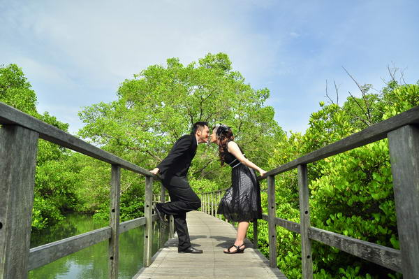 Bali Pre Wedding at Mangrove Forest