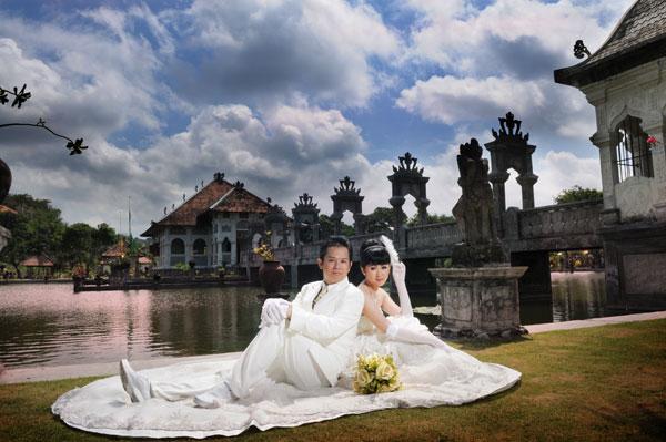 Bali Pre Wedding at Taman Ujung