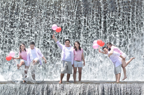 Bali Pre Wedding at Taman Ujung Waterfall