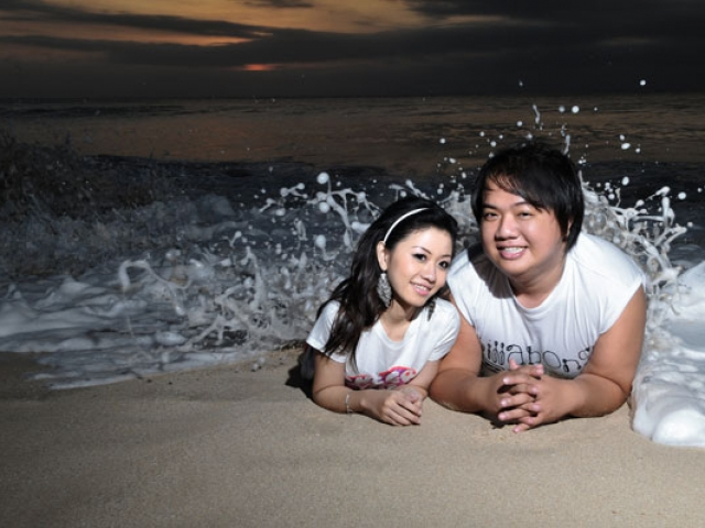 Bali Pre Wedding at Tegal Wangi Beach