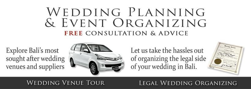 Bali Wedding Planner & Organizer Services