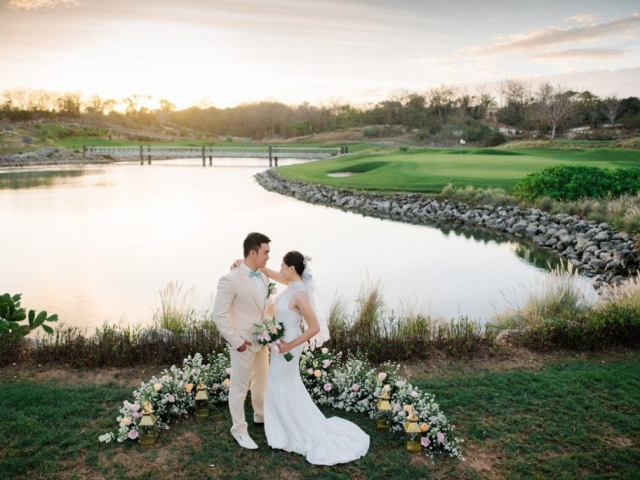 Bukit Pandawa Golf Wedding Ceremony