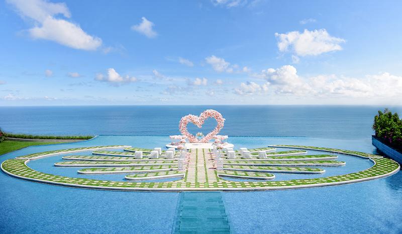 Fantasy Island Wedding Ceremony Bali