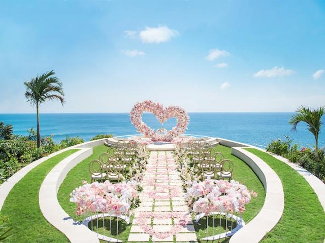 Fantasy Land Wedding Ceremony Bali