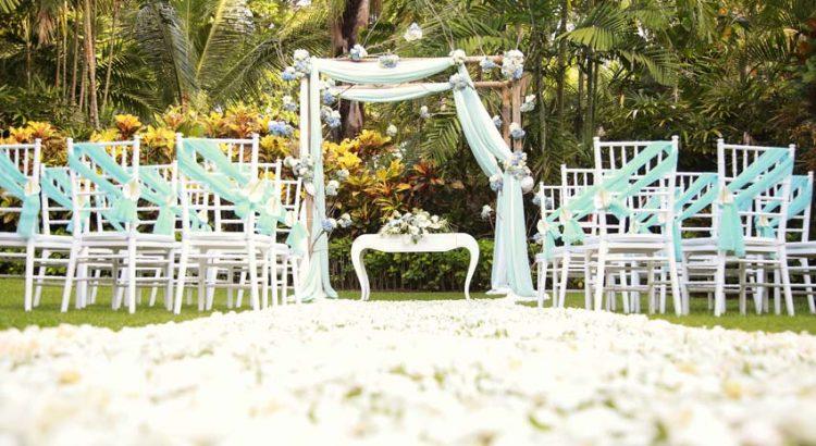 Melia Bali Beach Wedding Ceremony