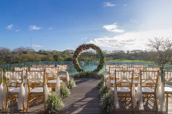 Bukit Pandawa Golf Bali Wedding Ceremony