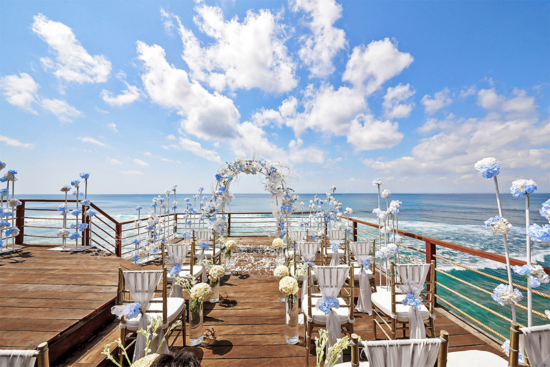 Fantasy Rock Wedding Ceremony Bali