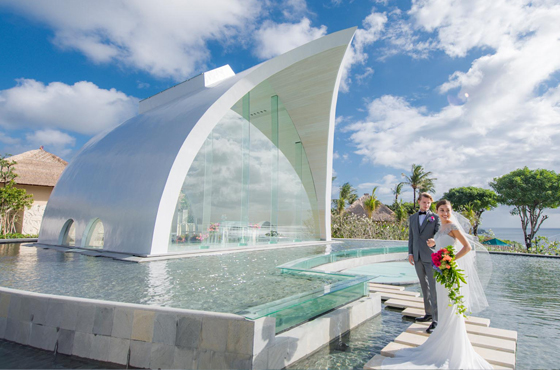 Tresna Wedding Chapel Ayana Bali