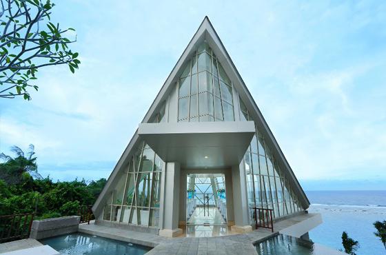 Pearl Chapel Samabe Bali
