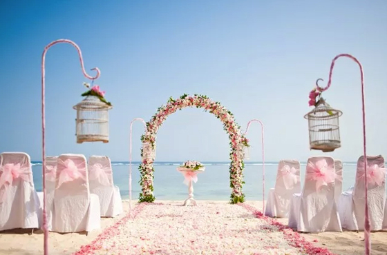 Samabe Bali Beach Wedding