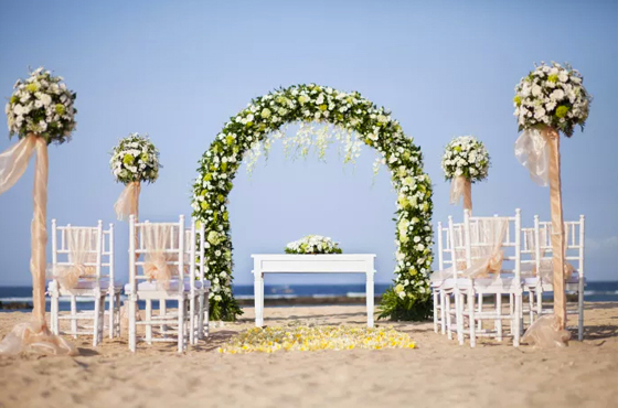 Sofitel Bali Beach Wedding