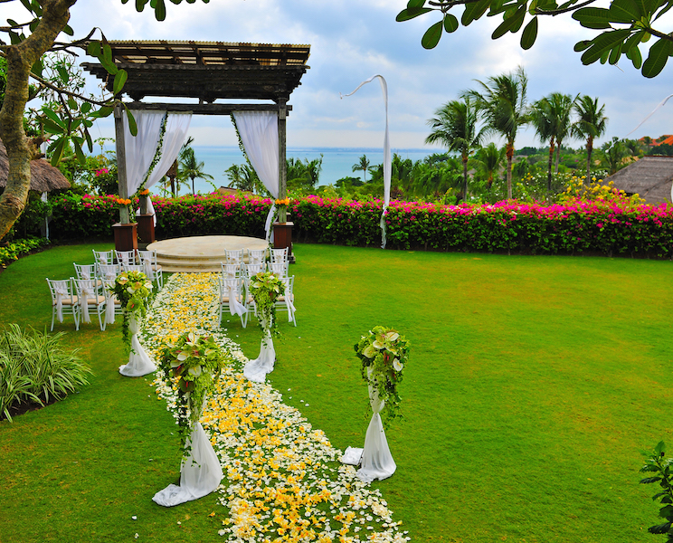 Ayana Asmara Gazebo Wedding Ceremony