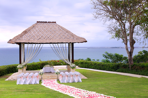 Ayana Villa Wedding Gazebo