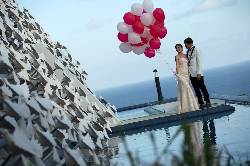 Banyan Tree Ungasan White Dove Chapel Wedding Package