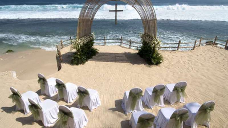 Bulgari Bali Beach Wedding