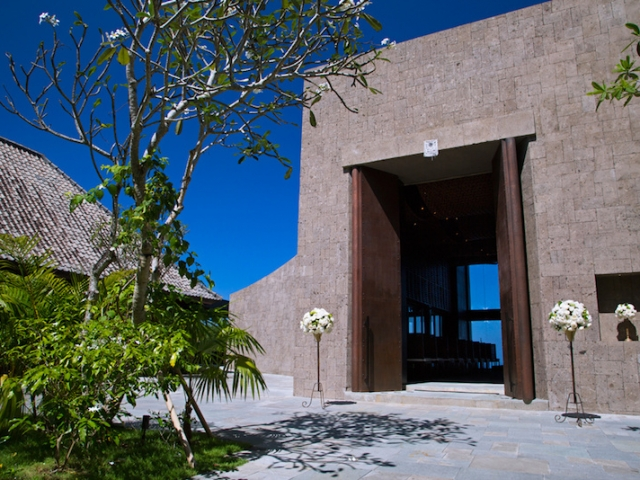 Bulgari Chapel Bali Wedding Ceremony