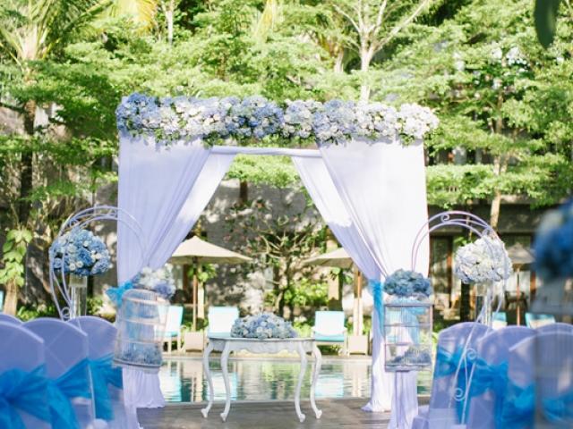 Courtyard Nusa Dua Hotel Wedding Ceremony