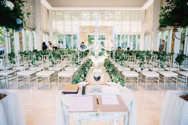 Jewel Box Chapel Wedding Ceremony