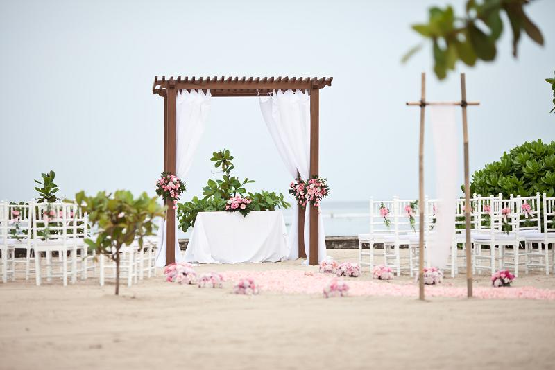 Kayumanis Beach Wedding Ceremony Nusa Dua