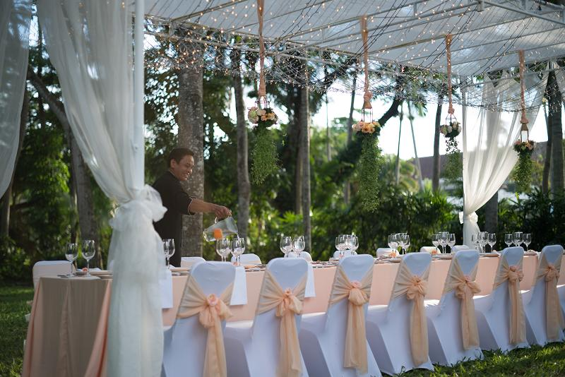 Kayumanis Green Patio Reception Nusa Dua