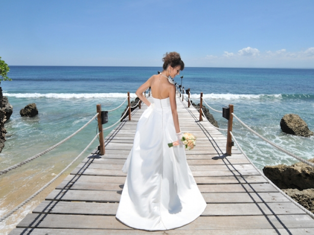 Ayana Kisik Jetty Wedding Ceremony
