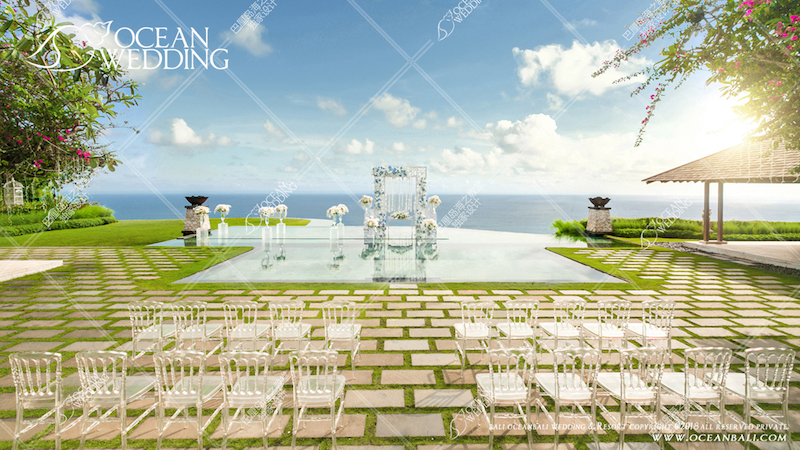 Ocean Bali Sky Water Wedding Ceremony
