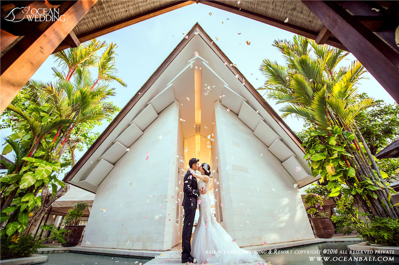 Ocean Chapel Bali Wedding Ceremony