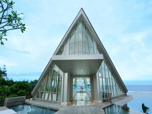 Samabe Pearl Chapel Bali Wedding Ceremony