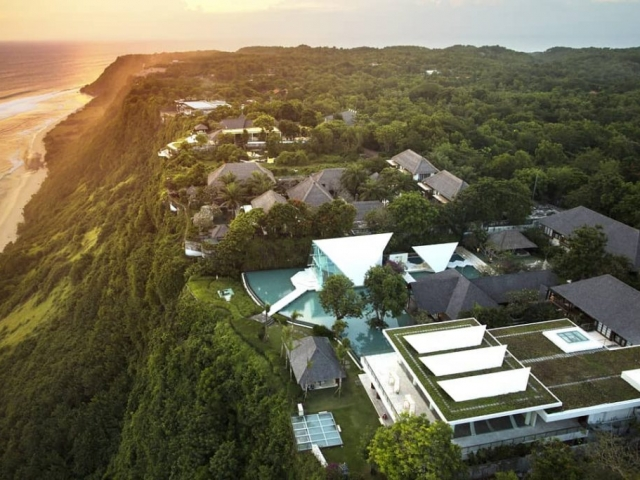 Birds Eye View of Tirtha Uluwatu