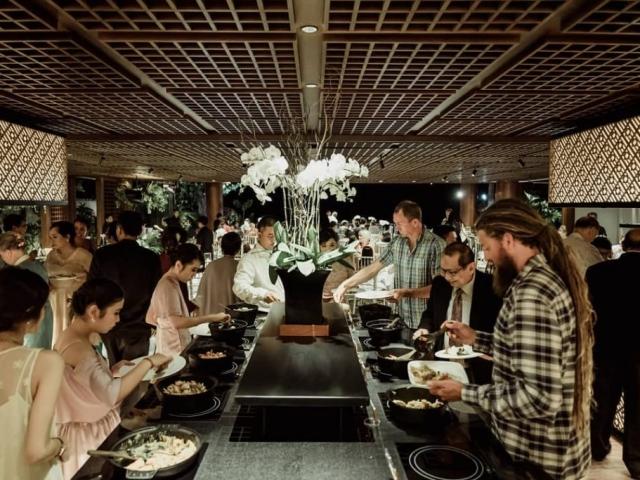 Tirtha Uluwatu Pavilion Restaurant