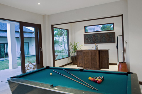 Villa Bulan Putih Pool Room