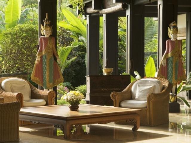 Villa Gajah Putih Bali Living Room