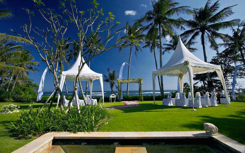 Villa Ombak Luwung Bali Wedding Reception