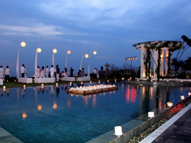 Villa Phalosa Bali Wedding Reception