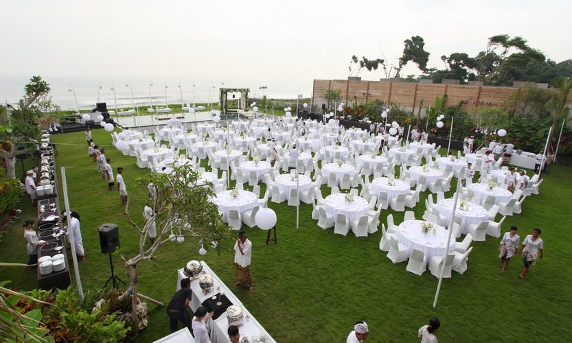 Villa Phalosa Bali Wedding Reception