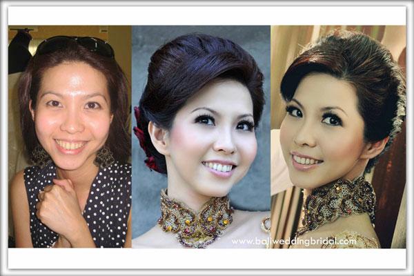 Bali Wedding Hair & Make Up