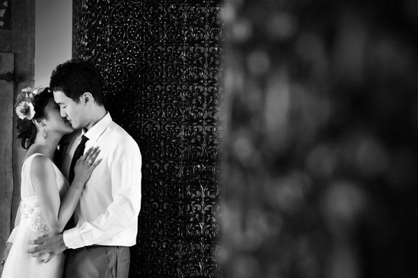 Bali Pre Wedding at Restaurant