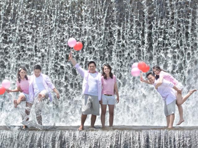 Bali Pre Wedding at Taman Ujung Waterfall
