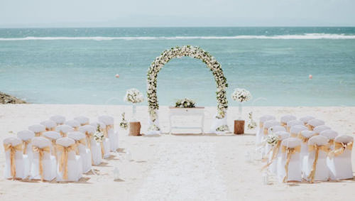 Nusa Dua Beach Hotel Wedding Ceremony