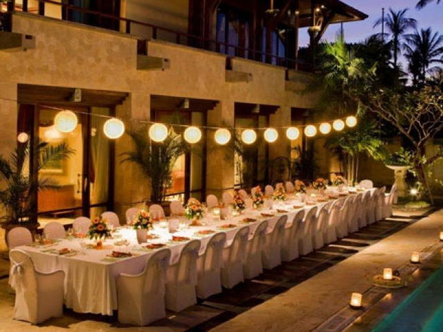 Nusa Dua Beach Hotel Wedding Reception