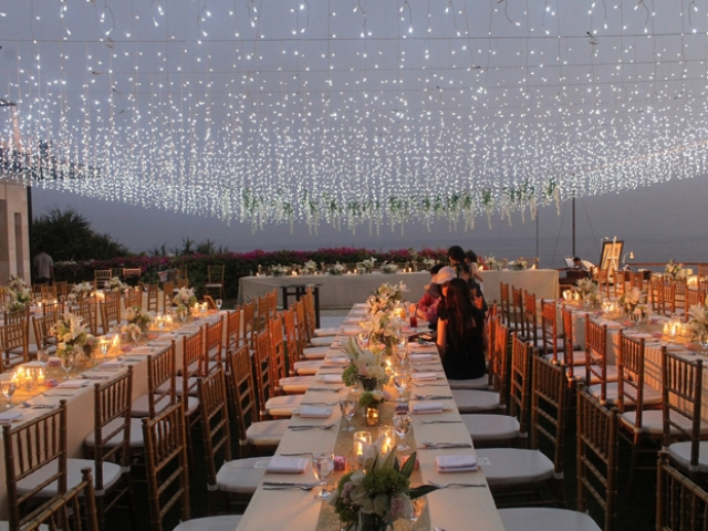 The Edge Bali Wedding Reception