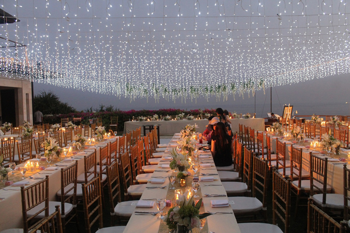 The Edge Bali Wedding Reception