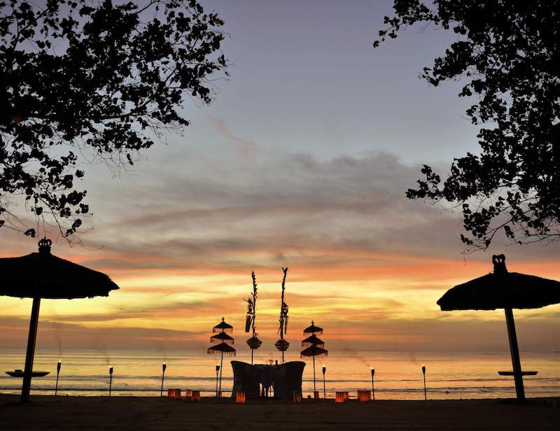 Belmond Jimbaran Beach Wedding Ceremony
