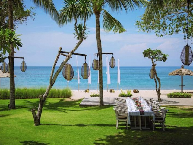 Belmond Jimbaran Beach Wedding Dinner